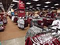University of Massachusetts at Amherst campus bookstore selling apparel.JPG