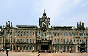 University of Santo Tomas Main Building - España Boulevard side