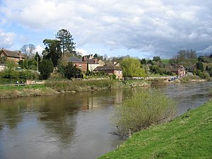 Upper Arley - Image: Upper Arley village and the river Severn geograph.org.uk 2379