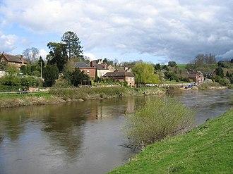Upper Arley - Image: Upper Arley village and the river Severn geograph.org.uk 2379