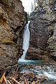 Upper Falls @ Johnston Canyon (15377026430).jpg