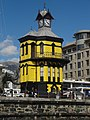 V&A Waterfront clocktower yellow.JPG