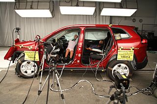 Out of position (crash testing)