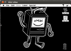 Mini vMac running System Software 7 on Ubuntu