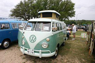 Volkswagen Westfalia Camper type of recreational vehicle