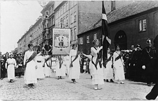 Danske Kvindeforeningers Valgsretsudvalg Danish womens organization