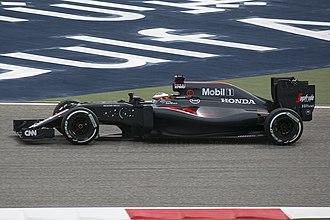 Stoffel Vandoorne - Vandoorne on his F1 debut, driving for McLaren at the 2016 Bahrain Grand Prix