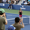 Vania King at the 2009 US Open 03.jpg