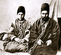 Varqa (r) and his son Ruhu'llah (l), before their 1896 execution for being Bábís.png