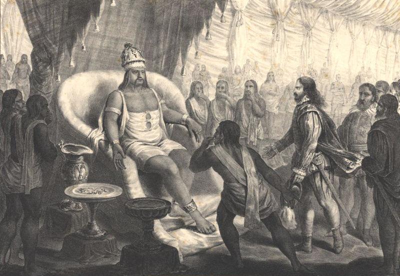 File:Vasco da Gama dá a sua embaixada ao Samorim em Calicute.jpg