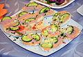 Vegetarian 2015 food in Poland Fish paste.JPG