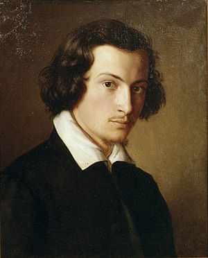 Philipp Veit - Self portrait, 1816.