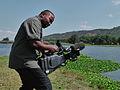 Venant Mambumina Imhotep Filming in Zimbabwe.JPG