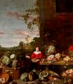 Vendedeira de Hortaliça (séc. XVII) - Frans Snyders, attrib. (Palácio Foz).png