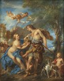 Venus and Adonis (François LeMoyne) - Nationalmuseum - 17857.tif