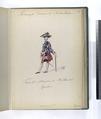 Vereenigde Provincien der Nederlanden. Tambor Major (Tamboer-majoor ) der Hollandsch Guardes. 1752 (NYPL b14896507-91971).tiff