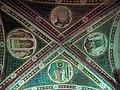 Via angelica, oratorio di s. urbano, volta, allegorie della venuta di cristo, xiv sec. 01.JPG