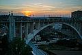 Viaducto Viejo de Teruel, atardecer.jpg