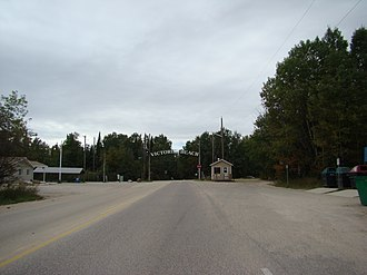 Rural Municipality of Victoria Beach - Image: Victoria Beach in Lake Winnipeg Manitoba Canada