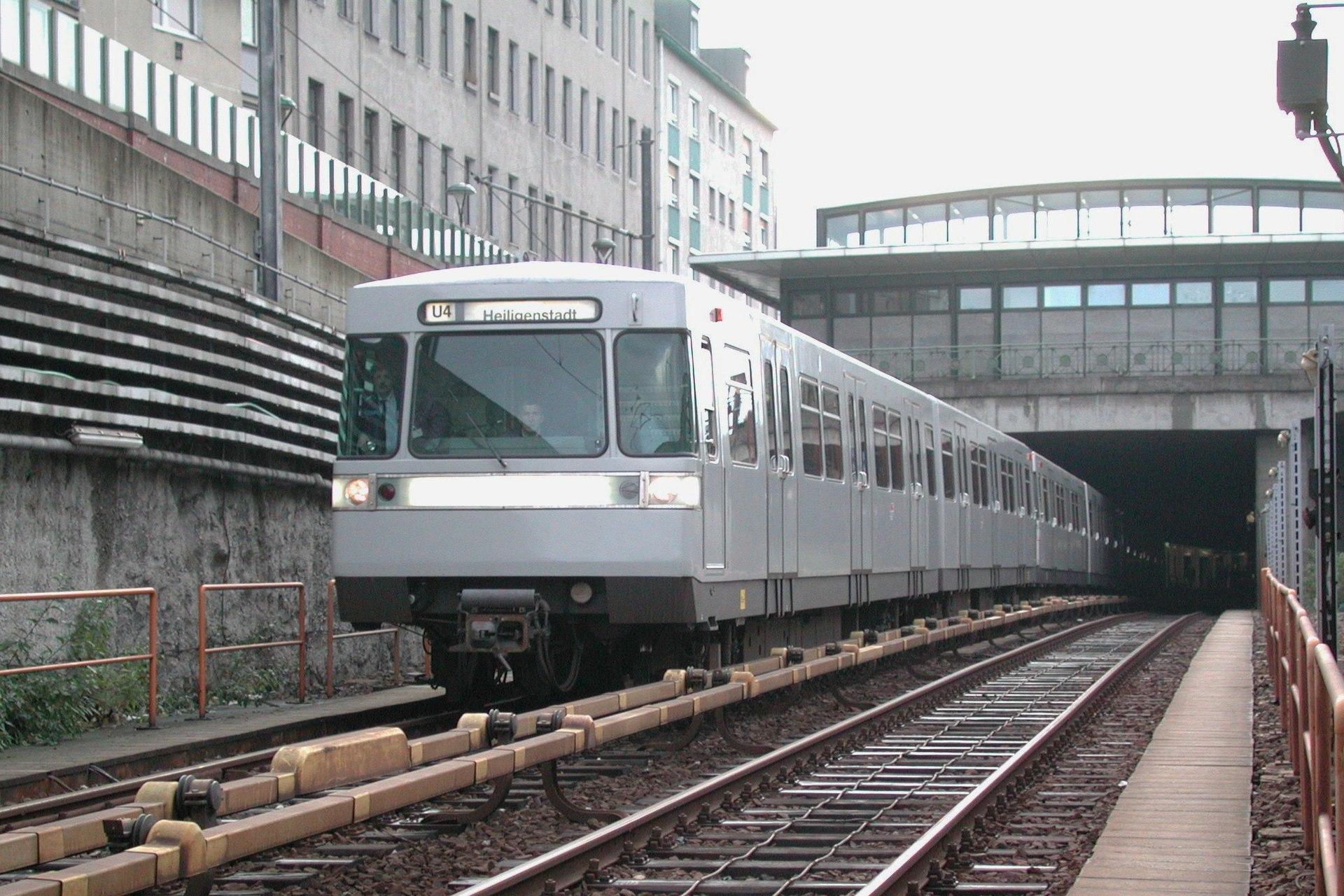 Metro antiguo de Viena