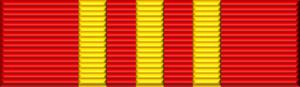 Lê Đức Anh - Image: Vietnam Hochiminh Order ribbon