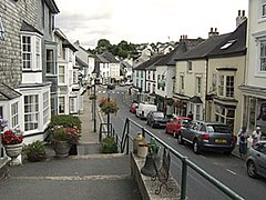 View down Church Street, Modbury, South Hams, Devon.jpg