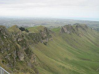 Te Mata Peak Mountain in New Zealand