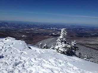 Killington Peak - Image: View from the peak of Mount Killington 1