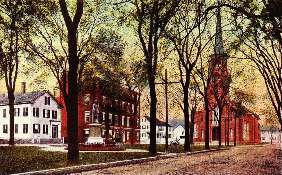 View of Brown Square, Newburyport, MA