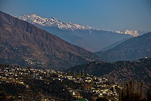 Doda district - View of Doda city in Jammu
