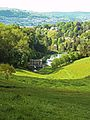 View over Palladian Bridge, Prior Park, Bath.JPG
