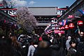 Views in April 2019 around the Buddhist temple Sensō-ji in Asakusa, Tokyo, Japan 07.jpg