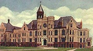 Villa de Chantal Historic District - c. 1912 postcard image of the main building