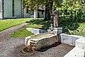 Villach Obere Fellach Thomas-Quelle mit Kupferblech-Statue hl Thomas 26062017 9881.jpg