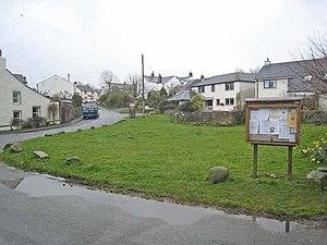 Eaglesfield, Cumbria - Image: Village green, Eaglesfield geograph.org.uk 759341