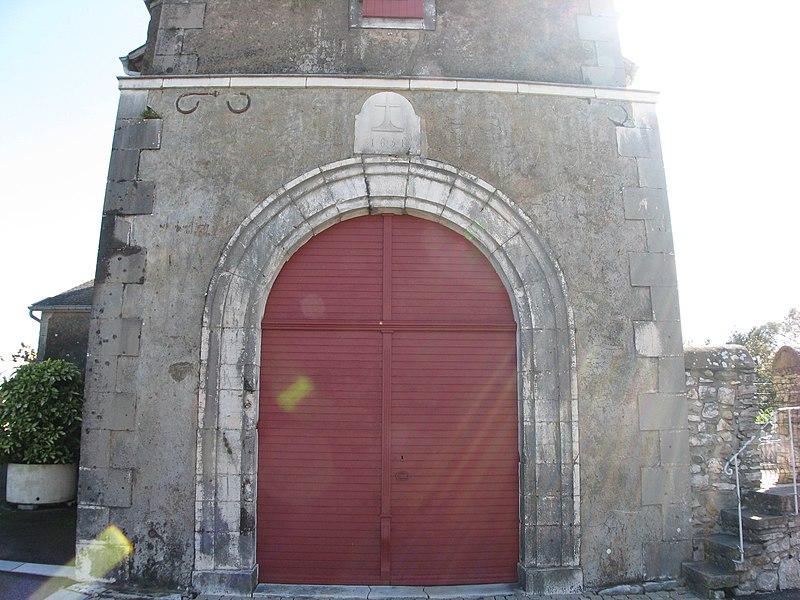 Eglise de Labastide-Villefranche (Pyrénées-Atlantiques) (Pyrénées).