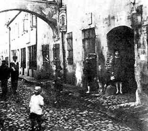 Vilna Ghetto - Vilna Ghetto (Julian Klaczko Street), 1941