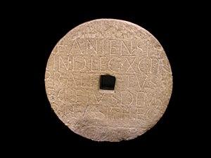 Praefectus castrorum - A Latin inscription from Vindobona pertaining to a praefectus castrorum