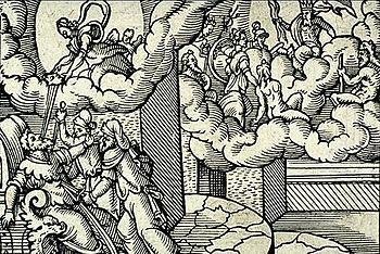 Virgil Solis - Deification Caesar