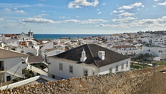 Lagos, Portugal - View of the historic centre of Lagos