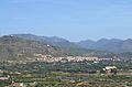 Vista de Castellnou des del castell de Sogorb.JPG