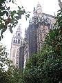 """Vista de Catedral de Sevilla desde el""""Patio de los Naranjos"""".JPG"""