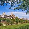 Vista de Lérida desde el río (España).jpg