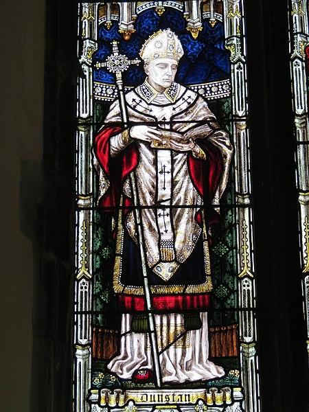 File:Vitrail Dunstan - église Saint-Dunstan, Cantorbéry.jpg