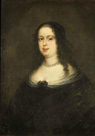 Vittoria della Rovere - Portrait after Justus Sustermans in the Musée des beaux-arts de Chambéry