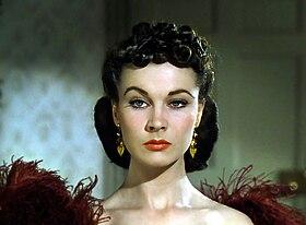 Scarlett O'Hara, interprétée par Vivien Leigh.