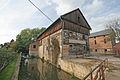 Vodní mlýn - areál (mlýn, sušárna obilí a čekanky, stodola, náhon) (Boharyně), 05.JPG