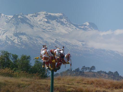 Voladores de Papantla en Cholula, Puebla, Pue. 16