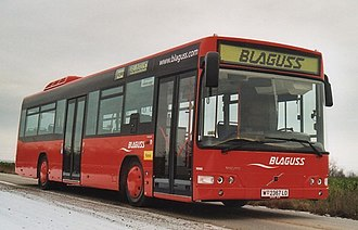 Volvo 7700 - A Volvo 7000 from Blaguss in Wien.