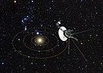 Voyager 1's view of Solar System (artist's impression).jpg